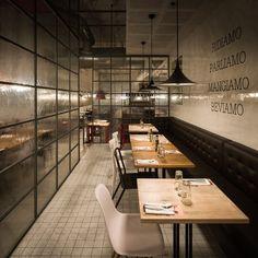 Restaurante Ginos Nervión, Sevilla, Ilmiodesign - Fernando Alda fotografo de arquitectura