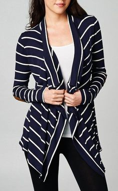 Liv Cardigan in Navy   Women's Clothes, Casual Dresses, Fashion Earrings & Accessories   Emma Stine Limited