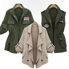 Gmarket - Shall collar jackets / loose fit / field jackets / saf...