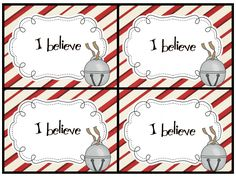 I believe and all aboard printable