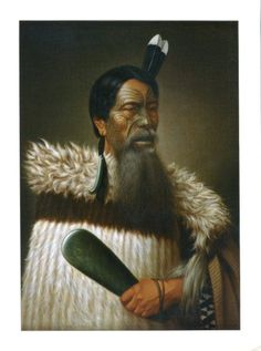 The postcard came from New Zealand Maori Warrior, Renata Kawepo Tama-K-Hikarangi by Gottfried Lindauer Maori Face Tattoo, Ta Moko Tattoo, Maori Tattoos, Maori People, Tribal People, Maori Legends, Polynesian People, Anthropologie, Maori Designs