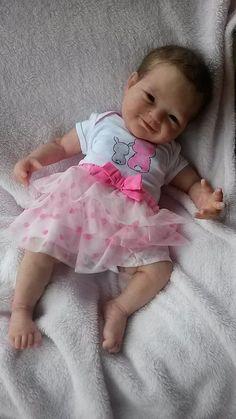 Full body silicone baby Mirelle by Joanna Kazmierczak