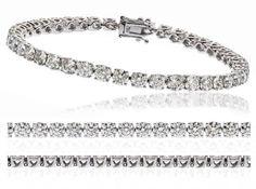 23CT Certified G/VS2 Round Brilliant Cut Claw Set Diamond Tennis Bracelet in 18K White Gold Twinkle http://www.amazon.fr/dp/B00GXC20L6/ref=cm_sw_r_pi_dp_Q4MRwb1EAWM4X