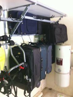 Garage Shelving Santa Cruz Luggage Rack