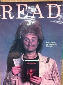 """Phil Collins as Davy Crockett for the American Library Association (1988) 