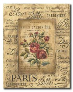 The 'Add to Basket' button is located just under the 'Buy it Now' button. Ideal for parties or decoupage. Vintage Labels, Vintage Cards, Vintage Paper, Vintage Postcards, Decoupage Vintage, Images Vintage, Vintage Pictures, Vintage Prints, Image Paris