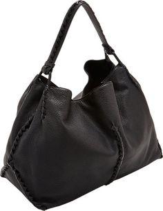 aca0df25e9 Bottega Veneta Intrecciato Cervo Large Shoulder Bag - - Barneys.com Large  Shoulder Bags