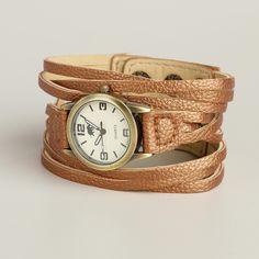 Bronze Multi-Strand Watch | World Market