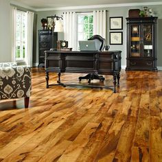 Shop Pergo MAX 5.24-in W x 47.24-in L Mill Creek Walnut Laminate Flooring at Lowes.com