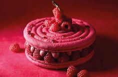 Recipes – Page 6 Chefs, Raspberry Macaroons, Macaroon Cake, Fancy Desserts, Pastry Chef, Chef Recipes, Mini Cakes, Birthday Candles, Biscuits