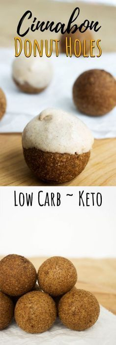 Our Sugar Free Donuts will bring you back to days of eating Cinnabon, but without the gult! Desserts Keto, Sugar Free Desserts, Sugar Free Recipes, Donut Recipes, Keto Snacks, Low Carb Recipes, Crokpot Recipes, Dinner Recipes, Healthy Recipes