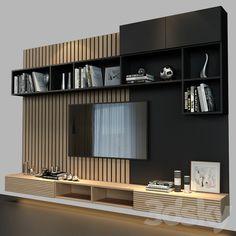 Living Room 3d Design, Living Room Tv Unit Designs, Tv Wall Design, Home Room Design, Living Room Tv Cabinet, Living Room Wall Units, Tv Wall Decor, Wall Tv, Modern Tv Room