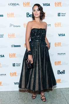 Berenice Bejo wears Elie Saab Haute Couture attends 'The Search' premiere during the 2014 Toronto International Film Festival. #bestdressed