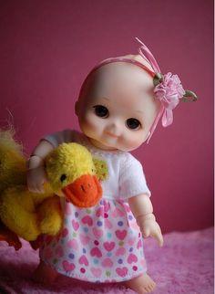 bjd Cute Baby Dolls, Cute Babies, Guys And Girls, Little Girls, Sweet Like Candy, Dream Doll, Polymer Clay Dolls, Kewpie, Baymax