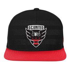 e46db882fae adidas MLS D.C. United Adult Men Jacquard Logo Cuffed Knit