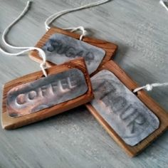 Stamp or emboss your own labels using the side portion of a soda can and just a few other household tools.