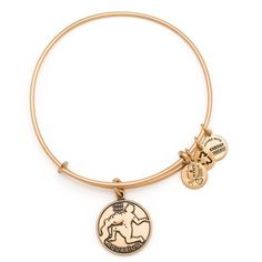 Alex and Ani Aquarius Bangle ($28) ❤ liked on Polyvore featuring jewelry, bracelets, charm bangle, bangle charms, alex and ani jewelry, hinged bracelet e expandable bangle bracelet