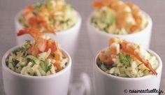 Riz pilaf crevettes