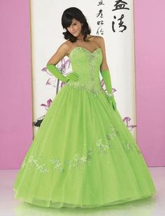Quince dresses, Fashionable ball gown sweet heart neck floor-length prom gown L92101, quinceanera gowns & resses - for my daughter, pretty-pretty!