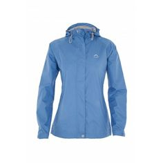 The K-Way Women's Misty Rain Jacket is lightweight, seam -sealed and 100% waterproof and windproof. It sports n adjustable hood which folds away into the collar as well as an adjustable hem and cuffs. It's also packable into the pocket and converts into a bum bag making compact and easily transportable.
