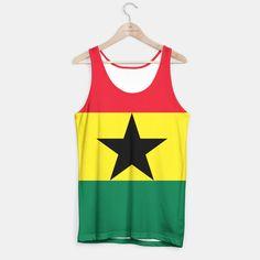 GHANA (FLAG) Tank Top