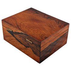 Victorian Rosewood Veneered Box