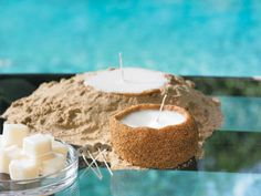 Vacation Sand Candles - These beachy sand candles will be a reminder of your favorite vacation every time you light one!
