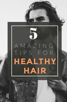 Every man wants to have healthy hair. Check out these tips and make sure to start using them, because they are amazingly helpful. Healthy Hair Tips, Healthy Hair Growth, Curly Hair Care, Curly Hair Styles, Hair Maintenance Tips, Hair Clay, Hair Styles 2016, Hair Care Tips, Cool Hairstyles