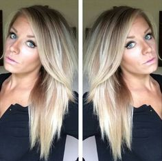 Perfect blonde highlights. LolaMarie7 from YouTube.