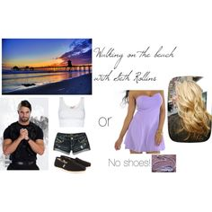 After a show, your long time friend, Seth Rollins asks you to walk out the beach with him. You gladly accept. Seth Freakin Rollins, Seth Rollins, Wwe Outfits, Wwe Stuff, Beach Walk, Walk On, Tv Shows, Fandom, Wrestling