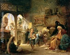 Coffee House in Cairo, 1870s oil painting reproductions, Coffee House in Cairo, 1870s oil painting replica. | Affordable Oil Painting Reproduction | A1Reproductions.com a1reproductions.com600 × 474Buscar por imagen Coffee House in Cairo, 1870s by Konstantin Egorovich Egorovich Makovsky Vladimir Makovsky - Buscar con Google