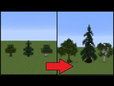 Minecraft: How To Make Better Trees! - YouTube