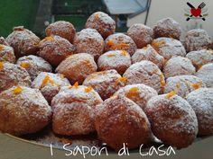 Arancine dolci di riso all'arancia
