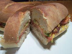 French Bread Chicken Sandwich