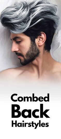 Combed back hairstyle is great for curls are well as straight hair. Here are 10 beard styles that suit this look. Cool Hairstyles For Men, Haircuts For Men, Straight Hairstyles, Men's Hairstyles, Latest Mens Fashion, Men's Fashion, Gents Hair Style, Beard Styles For Men, Mens Style Guide