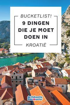 Met een oppervlakte van ruim 56.000 km² en zo'n 1.200 eilanden voor de kust biedt Kroatië genoeg voor één, twee of drie vakanties. We maakten de ultieme bucketlist van wat te doen in Kroatië. Hoeveel kan jij combineren in één vakantie? Of ga je liever nog een keer (of twee) terug om alles af te strepen?