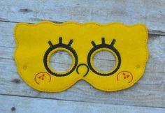 spongebob / mask / dress up / costume / under 10 by Hazelandlouies