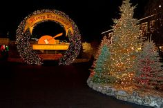 Silver Dollar City, Branson, Missouri. We went at Christmas time one year and loved it!