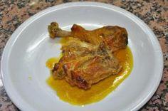 Mustard Chicken with orange   Pollastre a la mostassa amb taronja    lacuinanofapor