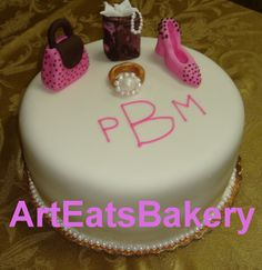 E.-CAKE-Decorated with marzipan!