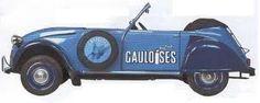 Gauloises 2 CV .... mijn favoriet.