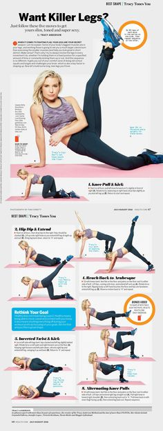 Tracy Anderson - Want Killer Legs? Health.com