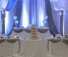 Backdrop/Head Tables - Sultana's Wedding Decor