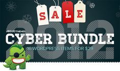 MOJO Themes Cyber Bundle- 16 WordPress items for just $29!
