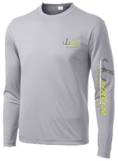 4fc26b645 Mens Long Sleeve Moisture Wicking Athletic Sport Training T-Shirt, L,  SILVER - Products Lists of Tools and Hardware