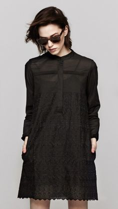 An Elegant Shirtdress?  Seems like a Contradiction...but it's not! I Heart The Dreslyn and Band of Outsiders!