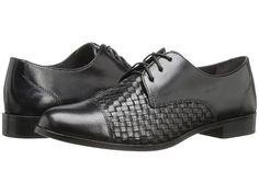 Cole Haan Jagger Weave Oxford Black - 6pm.com