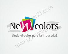 Diseño de Logo para la empresa New Colors. (Colombia)
