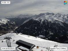 Webcam des Tages A-6293 Eggalmbahnen Tux - Lanersbach - Skifahren bis zur Haustür! Mount Everest, Mountains, Nature, Travel, Ski, Weather, Seasons Of The Year, Naturaleza, Viajes