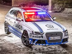 Audi RS 4 Avant joins the police force in Australia Audi Rs4, Audi A6 Rs, Audi Quattro, Gta, Police Cars, Police Vehicles, Search And Rescue, Lightning Mcqueen, Emergency Vehicles